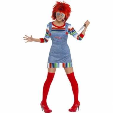 Halloween Kleding Dames.Halloween Dames Kostuum Chucky