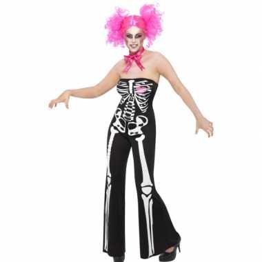 Halloween Kleding Dames.Halloween Dames Kostuum Skelet