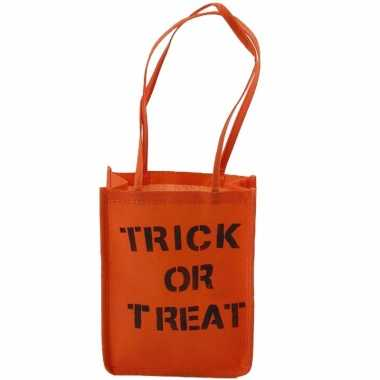 Halloween halloween trick or treat tasje maken kostuumket
