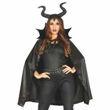 Halloween heks hoorns halloween kostuum kostuum dames
