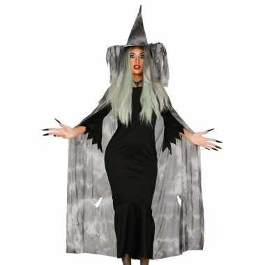 Halloween Kostuum Nl.Halloween Heksencape Halloween Kostuum Hoed Dames
