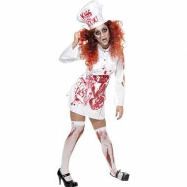 Halloween koks kostuum bloed