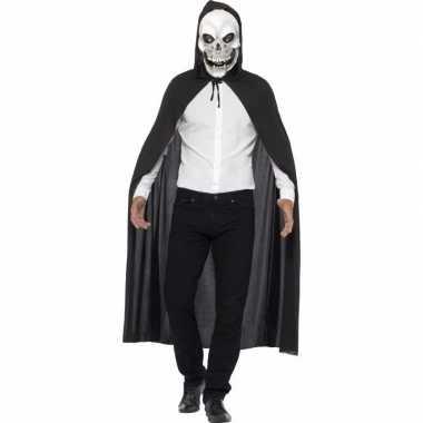 Halloween kostuum doodshoofd masker