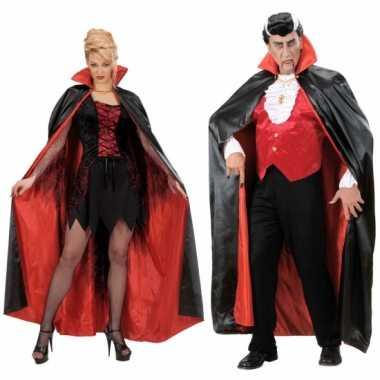 Halloween kostuum zwart/rood