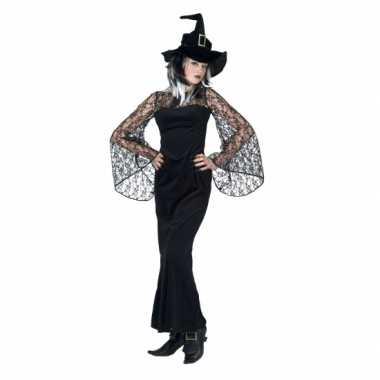 Halloween kostuum zwarte heks