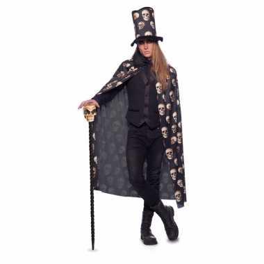 Halloween verkleed kostuum schedels