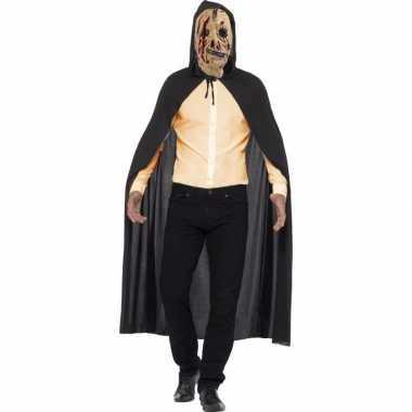 Halloween verkleed kostuum zombie rits masker