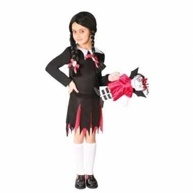 Halloween wednesday verkleed kostuum jurk meisjes