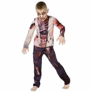 Halloween zombie kostuum kinderen