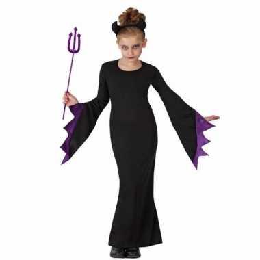 Halloweenkleding zwarte duivel kostuums
